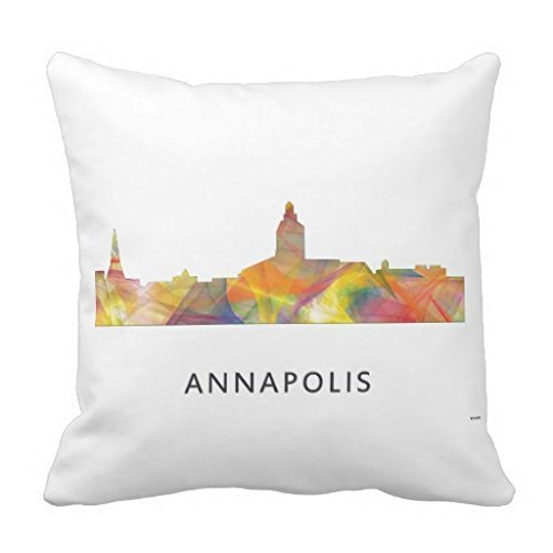 Shengpeng Annapolis Maryland Skyline Wb1 Throw Pillow Cases s Case