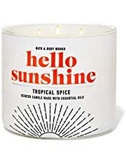 Bath and Body Works Hello Sunshine Tropical Spice 3-Wick Candle 14.5 oz / 411 g