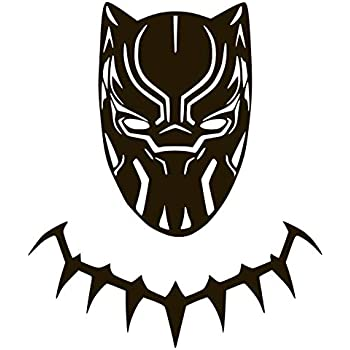 Amazon Com Black Panther New Movie Vinyl Sticker Decals