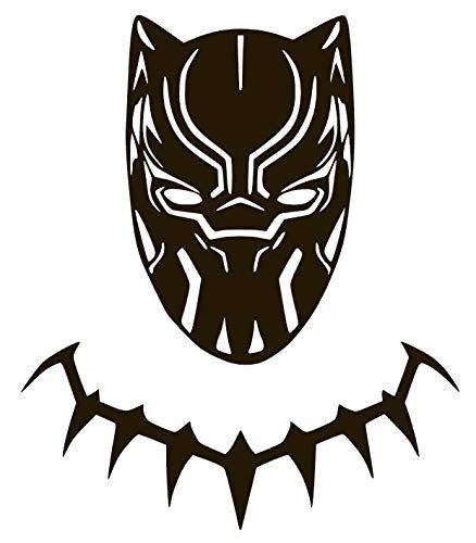 Black Panther New Movie Vinyl Sticker Decals for Car Bumper Window MacBook pro Laptop iPad iPhone (6