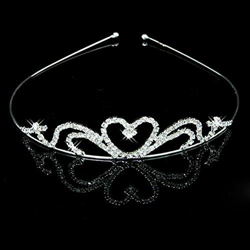 Wedding Bridesmaid Heart Shape Headband Children product image