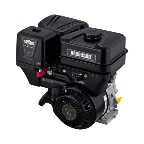 Briggs & Stratton 19L232-0036-F1 305cc 10.0 Gross HP Vanguard Engine with a 1-Inch Diameter by 2-29/32-Inch Crankshaft Tapped 3/8-24-Inch