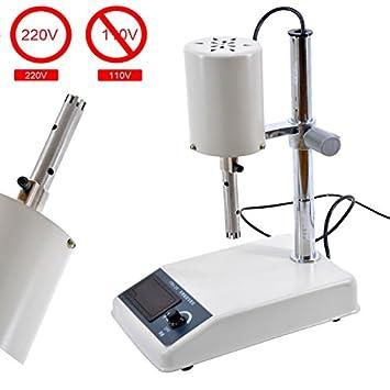 Ajustable de Alta Velocidad homogeneizador emulsionar dispensador de laboratorio 220 V
