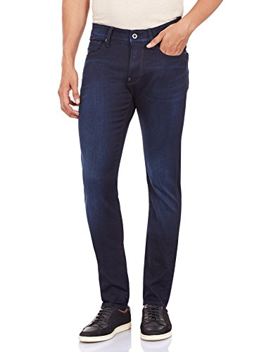Aged Dk Stretch Star WILS Slim G Defend Vaqueros Denim Super 89 Azul Hombre qRfZa4wx