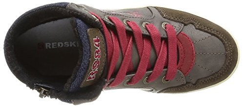 Redskins navy rouge Baskets Marron Garçon ebene Zig Mode rOS81r
