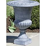 Willingham Urn in Aged Lead Size: Small
