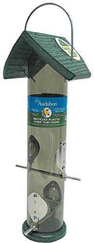 Audubon Going Green Clear Tube Thistle Feeder Model (Woodlink Thistle Tube Feeder)