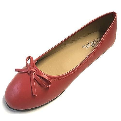 New Womens Ballerina Ballet Flats Shoes Leopard Black