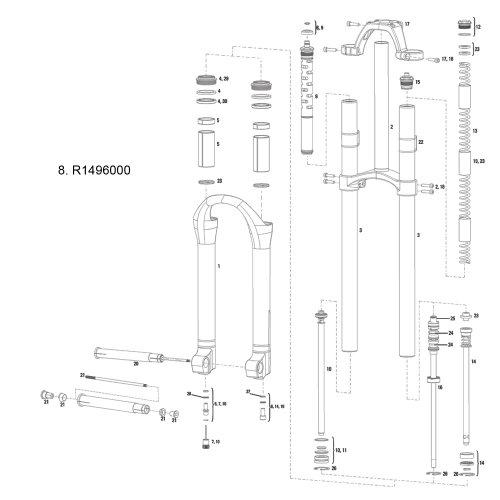 RockShox Boxxer MC Compression Knob