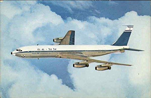 Boeing 707 - El Al Israeli Airlines Aircraft Original Vintage (Israeli Airlines)