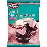 ハート形のマシュマロの100グラム (Dr Oetker) - Dr Oetker Heart Shaped Marshmallows 100g