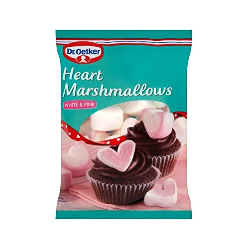 Dr Oetker Heart Shaped Marshmallows 100g - Pack of 6 by Dr. Oetker
