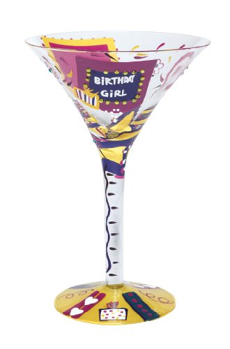 (Lolita Love My Martini Glass, Birthday Girl)