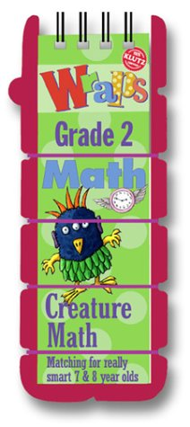 Wraps Math: Grade 2 : Creature Math : Matching for Really Smart 7 & 8 Year Olds