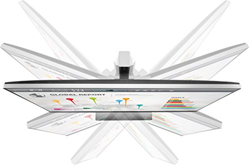HP EliteDisplay 27-Inch Screen LED-Lit Monitor Black/Silver (1FH52A8#ABA)