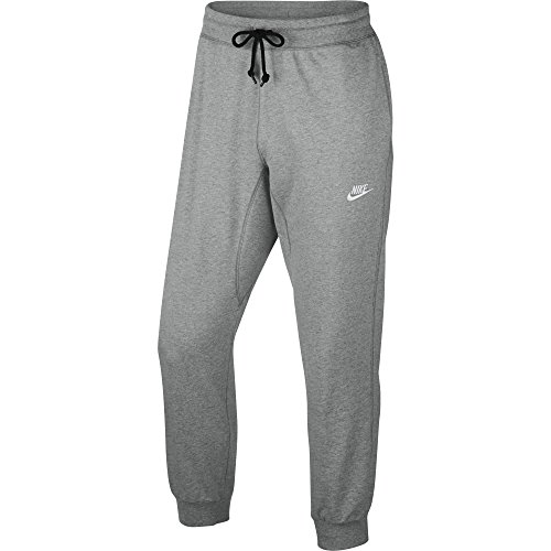 Nike Aw77 Cuff Fleece Pants Men 616576063 Grey Meduium