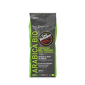 Caffè Vergnano 1882 Caffè in Grani 100% Arabica Bio  - 1 confezione da 1 Kg