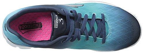 Skechers Go Walk 3 - Pulse - Zapatillas de deporte para mujer Azul - Blau (NVAQ)