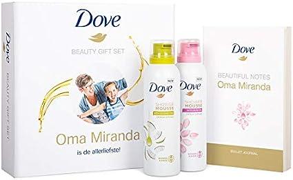 Estuche de regalo Dove - Espumas de ducha & Bullet journal: Amazon.es: Belleza