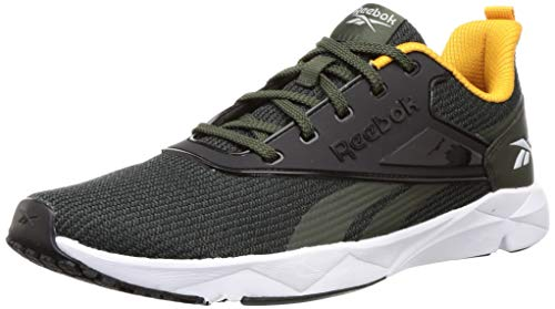 Reebok Men's Gait Runner Lp Dark Cypress/Trek Gold Running Shoes-8 UK (42 EU) (9 US) (FW1582) Price & Reviews