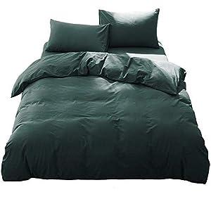 AYO 布団カバー 4点セット セミダブル シーツ 洋式・和式兼用 寝具カバーセット