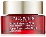 Clarins Super Restorative Night Cream for Unisex, 1.6 Ounce