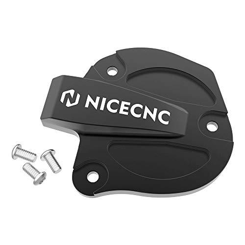 NICECNC Black Throttle Cover Cap with Bolts Compatibel met Yamaha Raptor 700R 700 YFM700 YFM700R, YFZ450 YFZ450W…