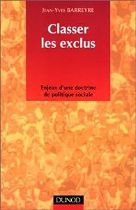 Classer les exclus par Jean-Yves Barreyre