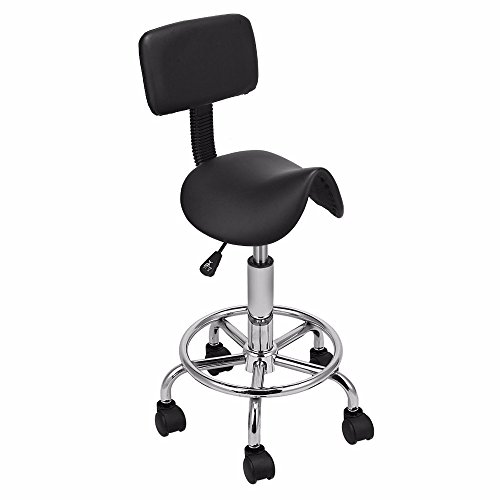 Hydraulic Saddle Salon Stool Massage Chair Tattoo Facial for sale  Delivered anywhere in USA