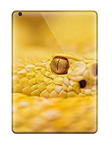 High-quality Durability Case For Ipad Air(albino Rattlesnake)