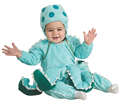Rubie's Deluxe Octopus Costume, Blue, 6-12 -