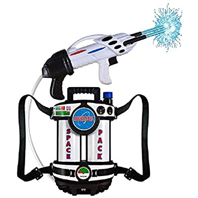 "16"" Astronaut Space Pack Super Soaking Water Blaster Halloween Costume Accessory: Toys & Games"