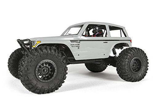 Axial Wraith Spawn 4WD RC Rock Racer Off-Road 4x4 RTR with 2.4Ghz Radio & Waterproof ESC, 1/10 Scale RTR ()