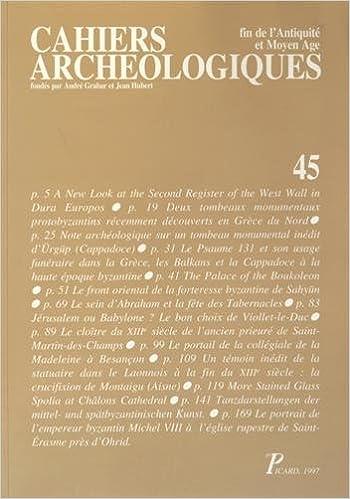 Lire en ligne Cahiers archéologiques: Fin de l'Antiquité et Moyen Age pdf, epub ebook