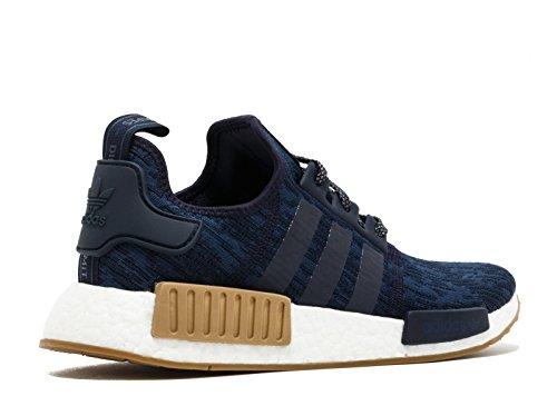 Adidas Originali Mens Nmd_r1 Sneaker Legend Ink / Trace Blue / Gum