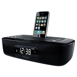 amazon com memorex dual alarm clock radio for iphone ipod rh amazon com Best CD Clock Radio Memorex Clock Radio iPod Dock