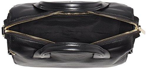 Calvin Klein Damen Victori4 Duffle Henkeltasche, Schwarz (Black), 16 x 20.5 x 32 cm