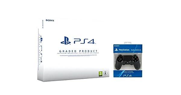 Playstation 4 (PS4) 500 GB Blanca (Reacondicionado Certificado ...