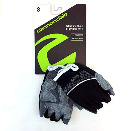 (Cannondale 2014 Women's CDALE Classic Gloves Black - 4G412/BLK Small)