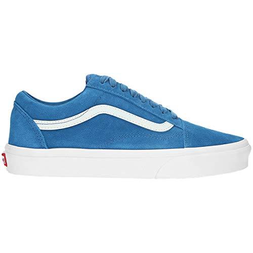 Vans Unisex Old Skool Suede Blue Sapphire White Trainers 12 W / 10.5 M US ()