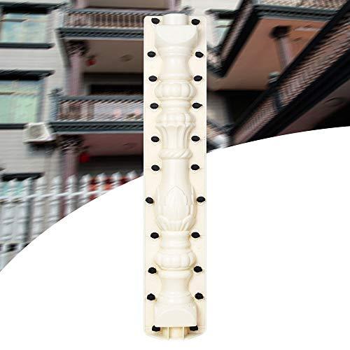 RanBB 80cm Roman Column Concrete Plaster Cement Casting Railing Moulds Balustrade Mold for Balcony Garden Pool Decor Mould (Mold Concrete Cement Plaster)