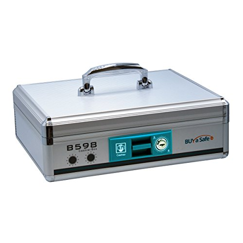 Aluminum Portable Cash Box B598