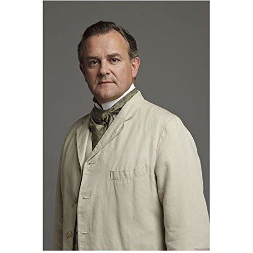 Downton Abbey Hugh Bonneville as Robert Crawley, Earl of Grantham Standing in Tan 8 x 10 Inch Photo]()