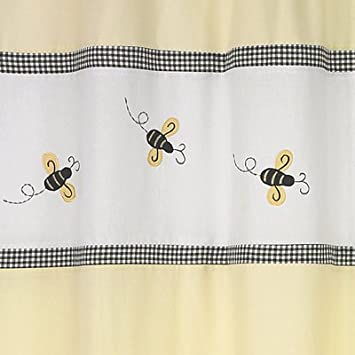 Amazon Bumble Bee Shower Curtain Home Kitchen