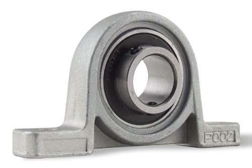 KP002-15MM, 15mm Mounted Unit Bearing, Pillow Block ()
