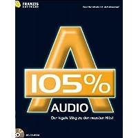 Audio 105 %, 1 CD-ROM Der legale Weg zu den neuesten Hits! Das Internetradio mit 'Aufnahmeknopf'. Für Windows 98 SE/ME/XP SP1 und SP2