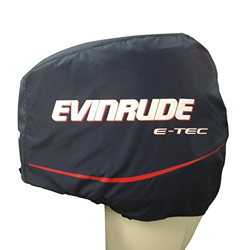 BRP Evinrude Johnson Engine Cover 75/90HP I3 E-TEC Upper Blue Cloth (Upper Motor Cover)