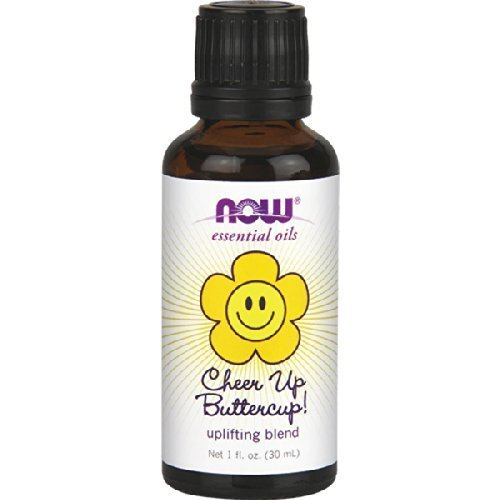 Now Foods Cheer Up Buttercup Uplifting Blend 1 fl oz Oil (Pack of 2)