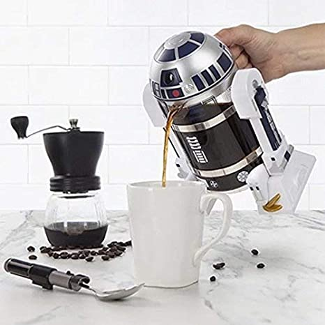 Star Wars R2 D2 French Press Novelty Coffee Maker Star