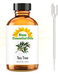Tea Tree - LARGE 4 OUNCE - 100% Pure Essential Oil (Best 4 fl oz / 118 ml)
